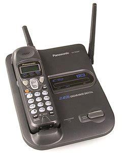 Sale Panasonic Phone Kx Ts845nd panasonic kx tg2267 2 4 ghz gigarange cordless phone 2 line cordless telephones
