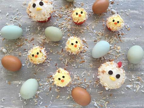 chicken  baby chick cupcakes birthday cake ideas