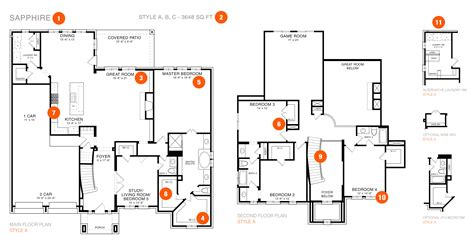 reading a floor plan how to read your home s floorplan empire communities