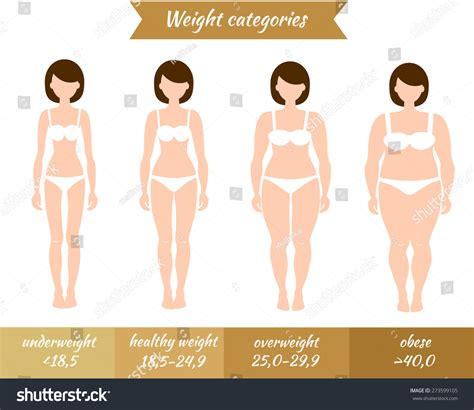 healthy fats for underweight vector illustration of with different mass