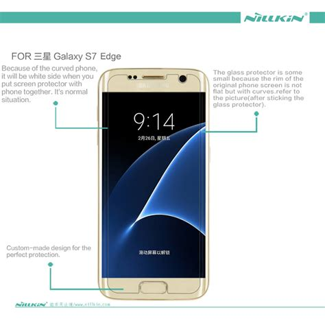 Fuze Anti Samsung Galaxy S7 Edge Clear nillkin clear anti fingerprint protective for