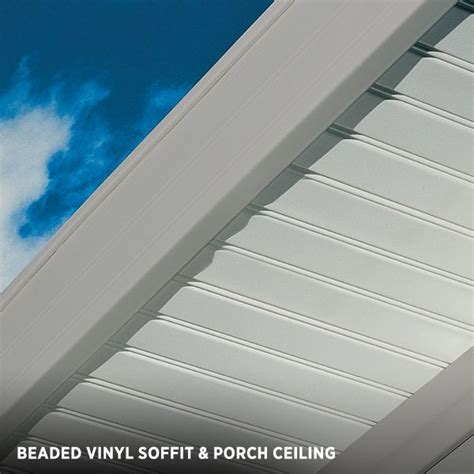 beadboard soffit panels vertical siding beaded vinyl soffit porch ceiling