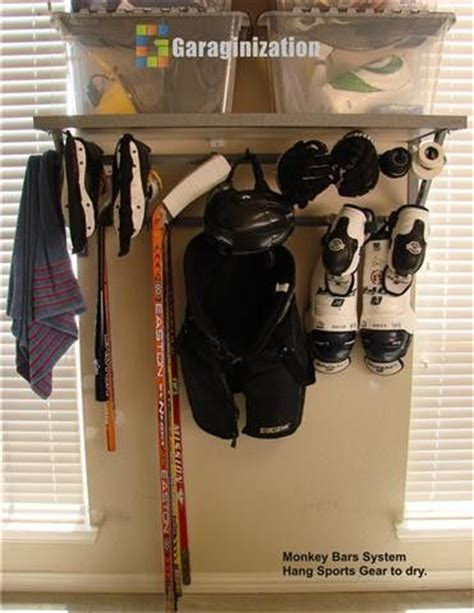 Hockey Equipment Storage Rack by 25 Best Ideas About Hockey Gear On Used