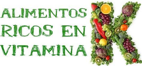 alimenti con vitamina k 10 alimentos ricos en vitamina k la gu 237 a de las vitaminas