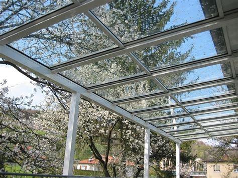 tettoia vetro tettoia in alluminio e vetro coperture fisse frubau