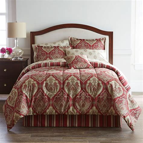 penneys comforters home expressions chandler complete bedding set with sheets