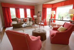 burgundy aqua cream coral room interior decorating with shades of coral