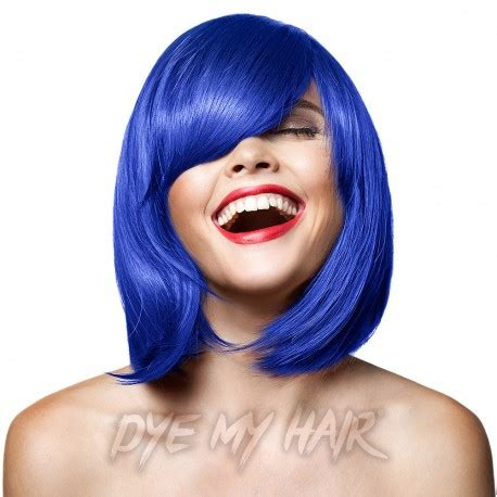 manic panic rockabilly blue semi permanent hair dye, high