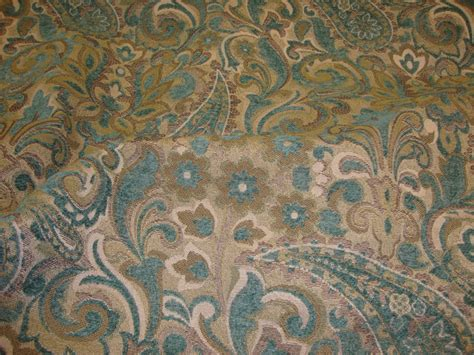 floral chenille upholstery fabric sky paisley with floral chenille upholstery drapery fabric