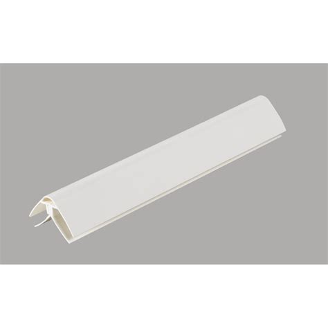 Raccord Lambris Pvc Plafond by Profil De Finition Pour Lambris Pvc 4 X 2 5 Cm L 2 6 M