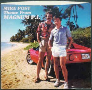 theme song magnum pi mike post theme from magnum p i gumbus red vinyl at