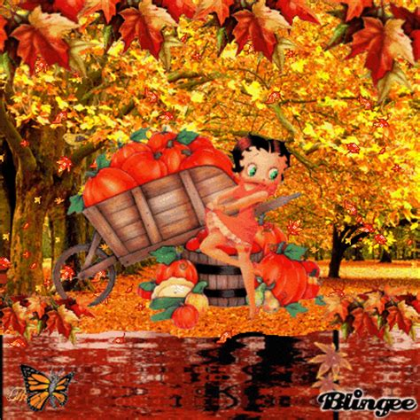 Get Ready For Autumn Fall Betty Getting Ready For Fall Picture 98137119 Blingee