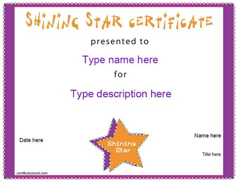 free educational certificate templates free certificate templates education certificate shining