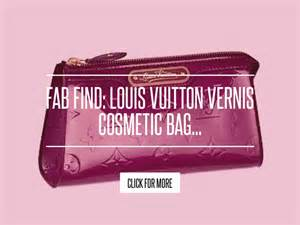 Fab Find Louis Vuitton Vernis Cosmetic Bag by Fab Find Louis Vuitton Vernis Cosmetic Bag Fashion