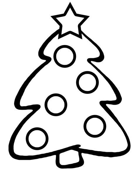 dibujo de rbol de navidad para colorear holidays oo