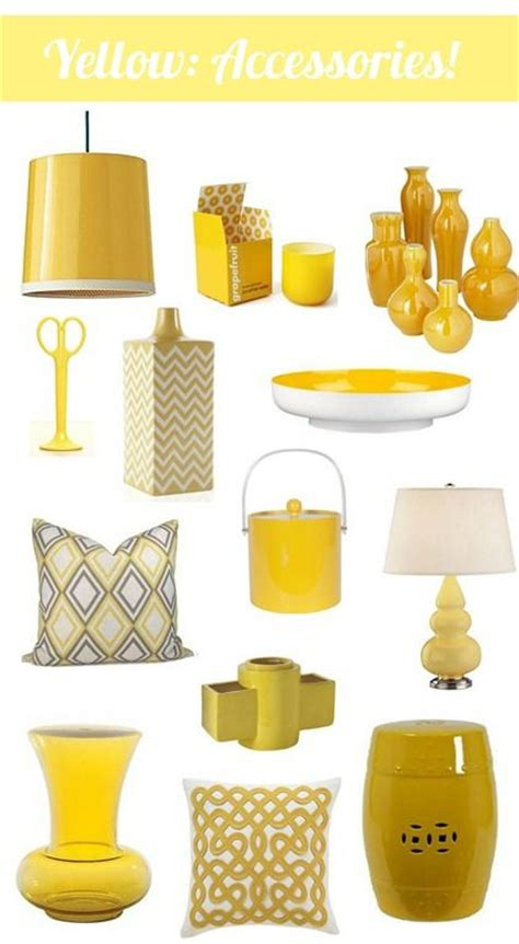yellow decor best 25 yellow home decor ideas on pinterest yellow