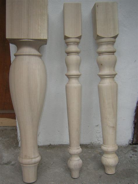 gambe tavolo tornite gambe in legno tornite commercio legname pregiato verona