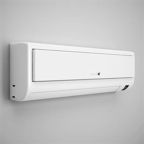 Ac Lg 1 2 Pk Model F05nxa wall air conditioner 10 3d model max obj fbx c4d cgtrader