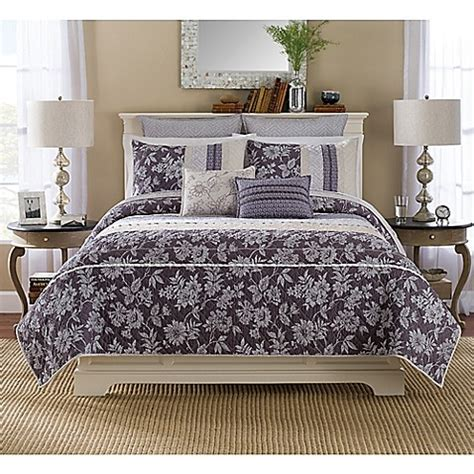 bed bath and beyond helena mt buy helena pillow sham in purple from bed bath beyond