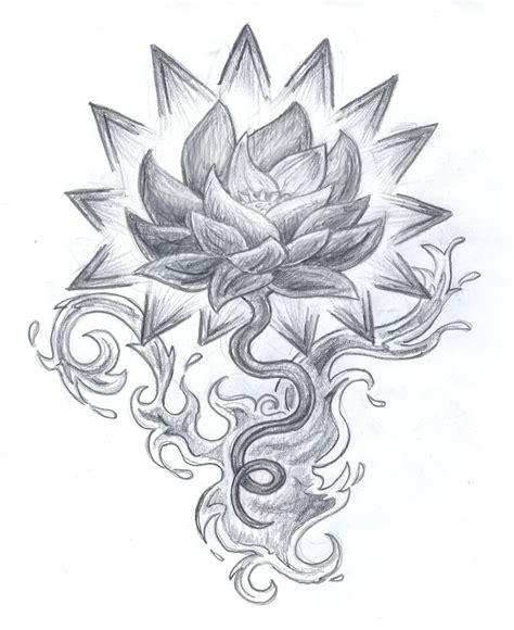 lotus tattoo designs free lotus tattoo design by kijara1 on deviantart
