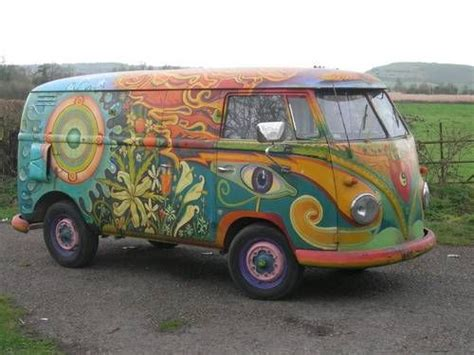 volkswagen hippie for sale 1956 hippie painted vw panel for sale not my pin but