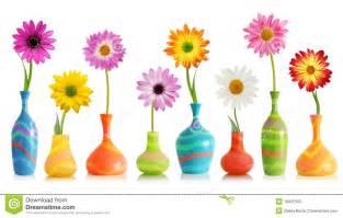 Ceramic Vase White Daisy Flowers In Vases Stock Photos Image 19802343