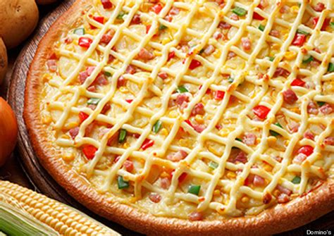 mayonnaise pizzas from domino s japan yay or nay photos huffpost