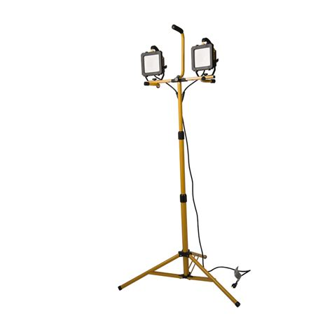 What Does Led Stand For Light Bulbs Shop All Pro 2 Light 66 Watt Led Stand Work Light At Lowes
