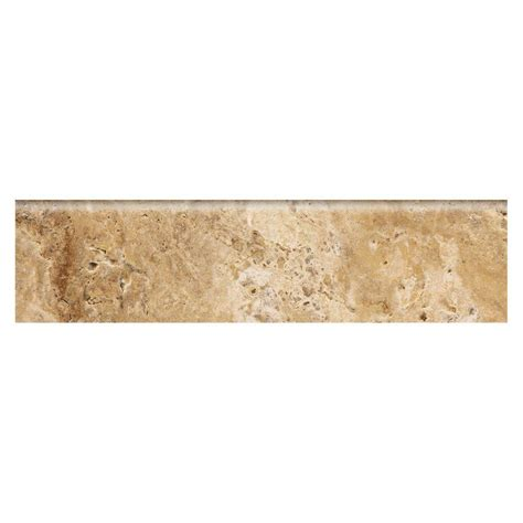 marazzi travisano navona 3 in x 12 in porcelain bullnose trim floor and wall tile ulp3 the