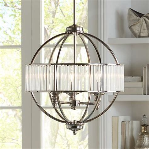 possini lighting possini florien 18 1 4 quot wide polished nickel chandelier 4d427 ls plus