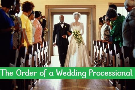 25  Best Ideas about Wedding Processional Order on