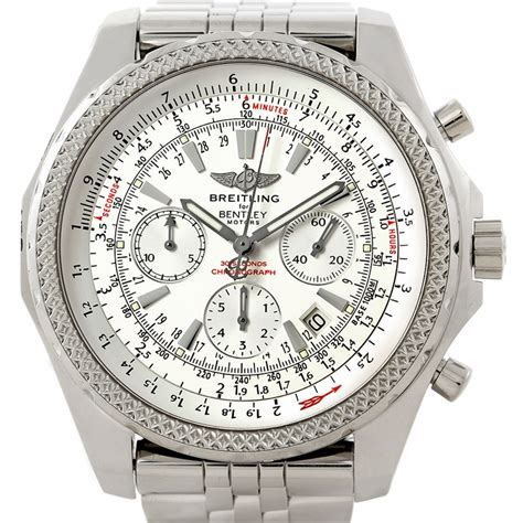 bentley breitling a25362 breitling bentley motors chronograph mens a25362