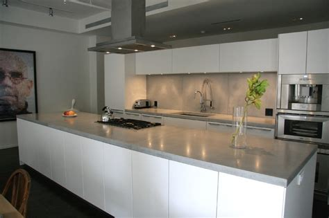 concrete kitchen countertops modern kitchen