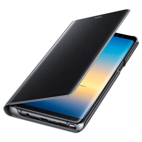 Clear View Standing Cover Samsung Note8 Original samsung galaxy note8 clear view cover ef zn950cbegww black