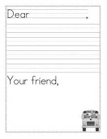 Friendly Letter Template For 2nd Grade Writing A Friendly Letter Format Viewing Gallery