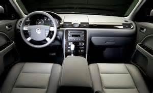 2005 mercury montego interior