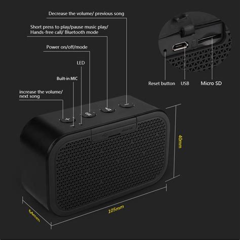Speaker Xiaomi Mifa xiaomi mifa m1 bluetooh portable speaker cube with microsd