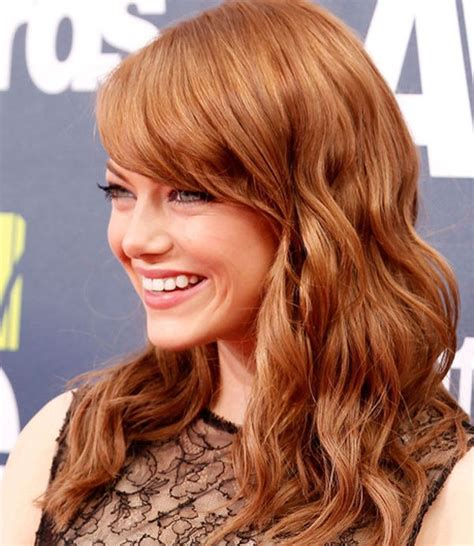 hairstyles with brown copper light brown stripes feria hair color feria copper shimmer from l oreal paris