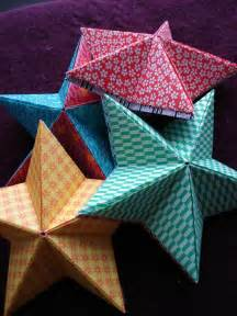 Ordinaire Creation Deco Noel Facile #4: Etoiles-noel-origami-1.jpg