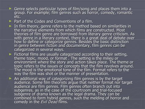 epic film genre definition film genre