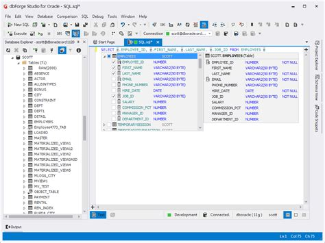 design editor oracle oracle management gui tools oracle ide for developers