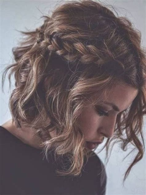 hairstyles with curly hair and braids 7 stylish messy hairstyles for short hair popular haircuts
