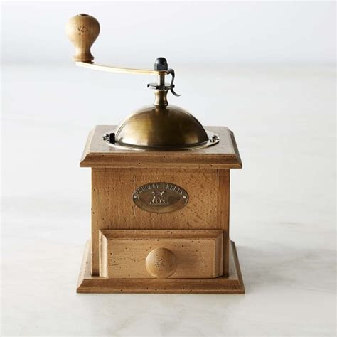 peugeot coffee grinder peugeot antique coffee mill williams sonoma