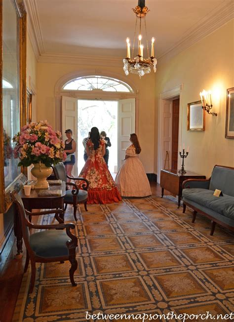 antebellum home interiors tour oak alley plantation in louisiana