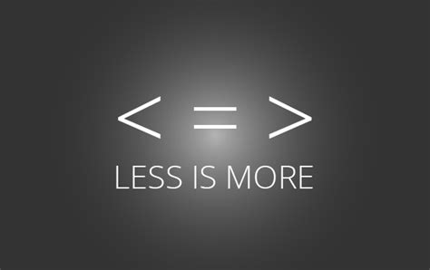Less Is More by Less Is More Starcounter