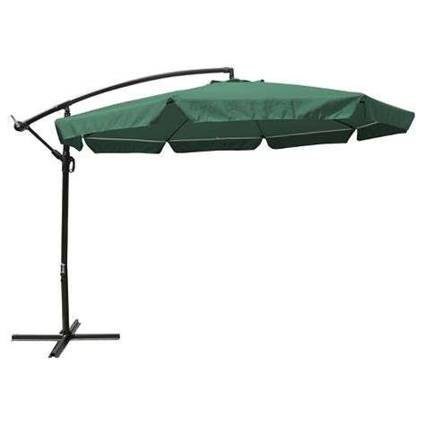 Patio Umbrella Mosquito Net 11 Steel Offset Patio Umbrella W Mosquito Netting