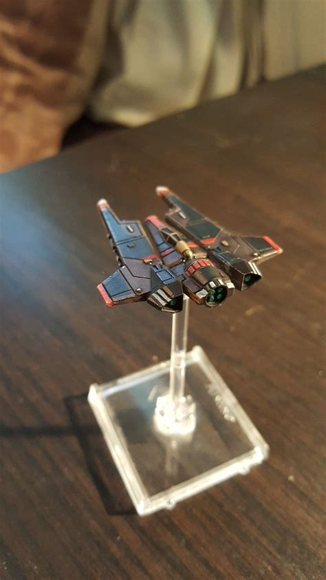 Painting X Wing Miniatures by Wars X Wing Miniatures Protectorate Starfighter