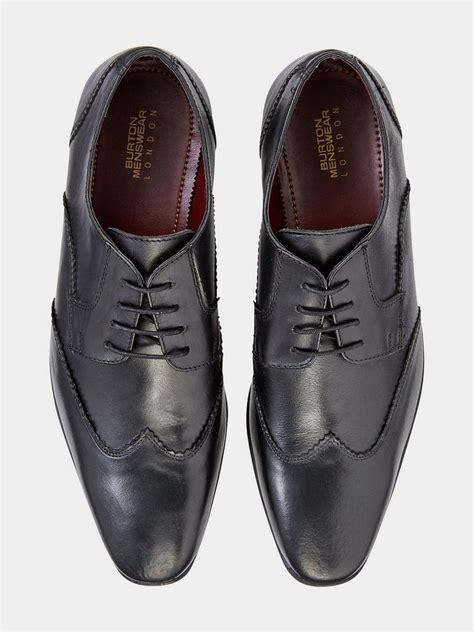 Brodo Burton Formal Shoes Black black leather formal shoes mens shoes clothing burton