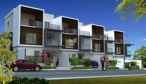 Master House Plans 4 bhk row houses in majestic villas rajendra nagar