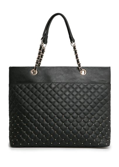 Zara Studed Crossbody Bag Ori China mango studded quilted tote bag